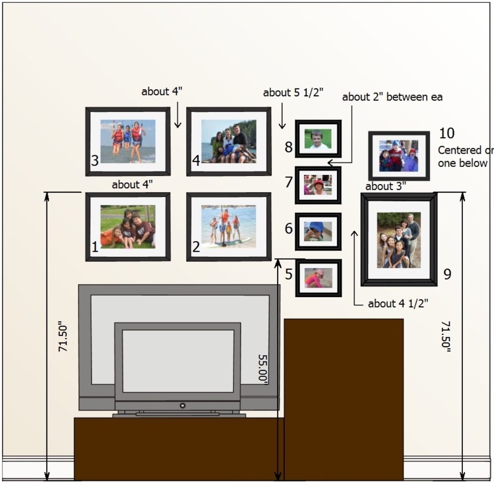 gallery wall specs
