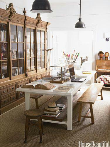 Interior Designer,  Myra Hoefer,  Photographer, Victoria Pearson. As seen in  House Beautiful