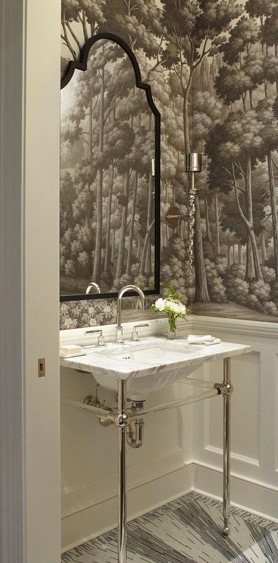 via  Traditional Home  Design: Frank Ponterio, Photo: Werner Straube