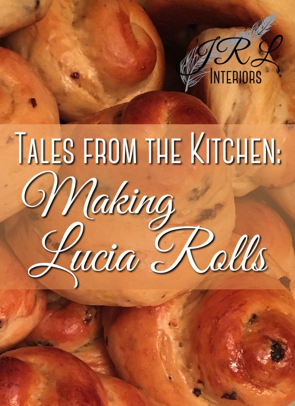 Lucia Roll Recipe