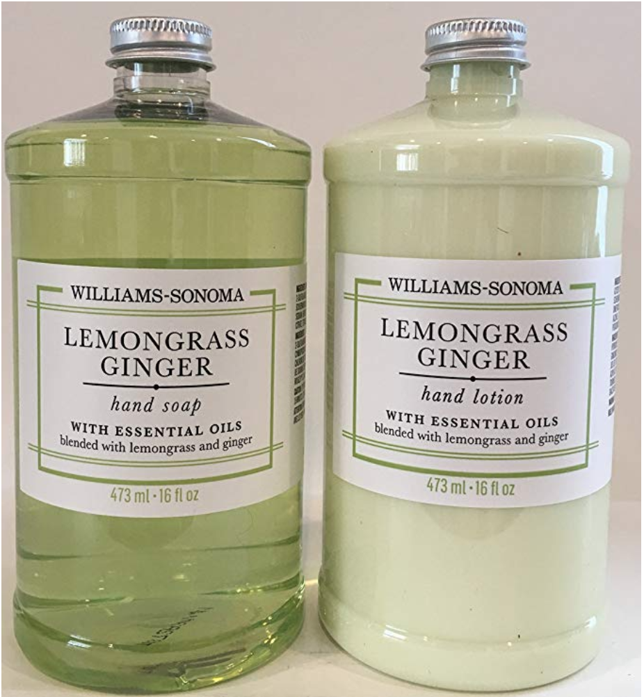 Lemongrass Ginger soap and lotion