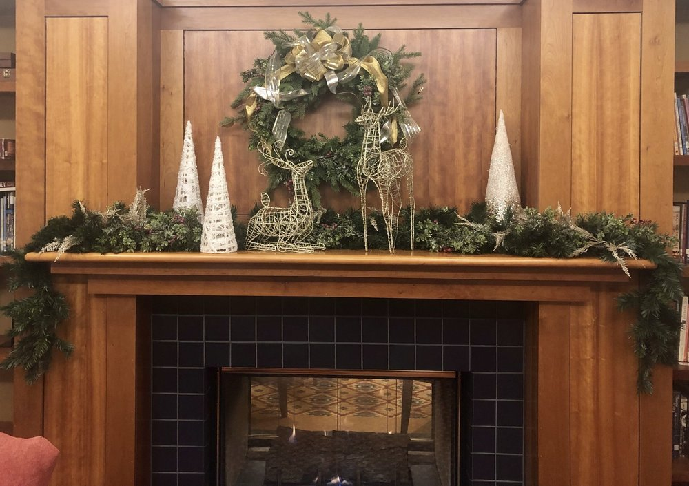 Game Room Mantel