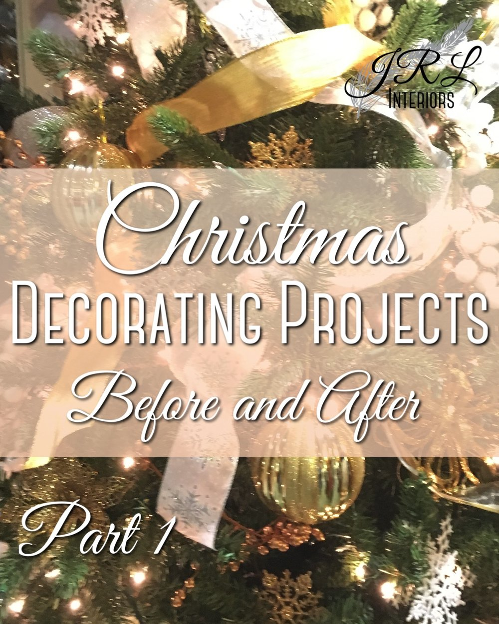Christmas Decorating Projects Part 1
