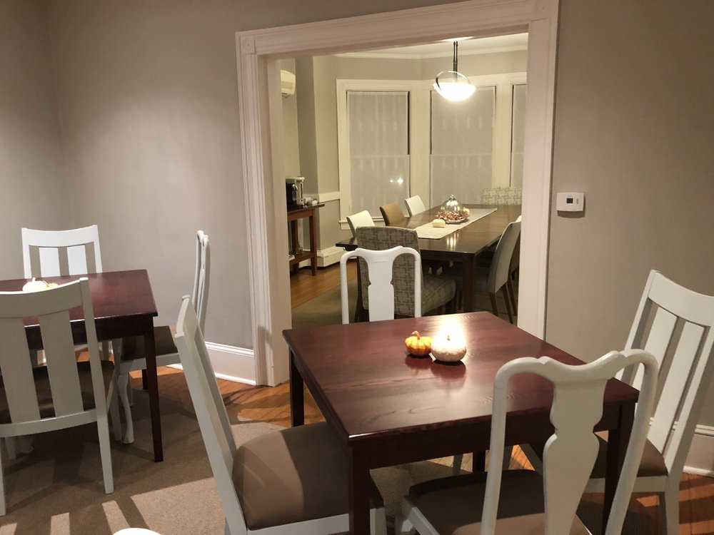 Auxiliary Dining Room BEFORE