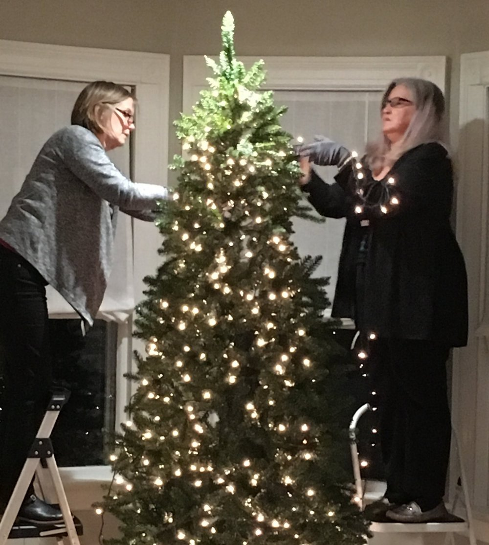 Adding the lights