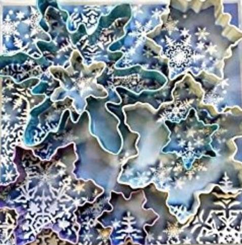 Snowflake 7 piece set