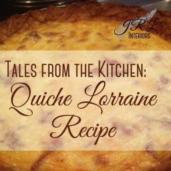 The BEST Quiche Lorraine Recipe