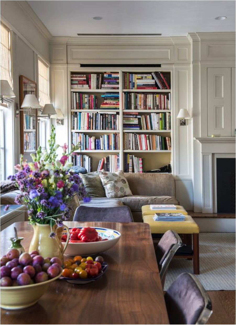 The lovely home of Audrey Heffernan Meyer and Danny Meyer via the   NY Times     Photo:   Jane Beiles