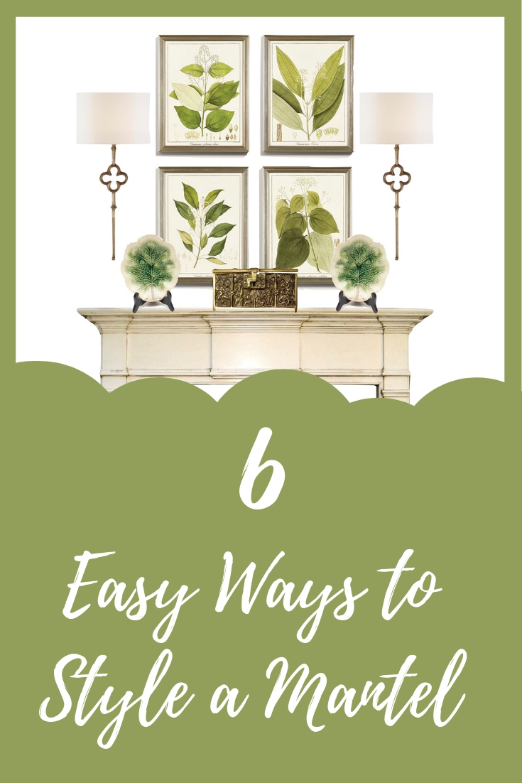 Easy Ways to Style a Mantel