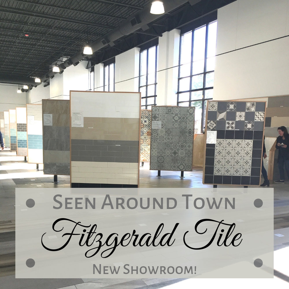 New Fitzgerald Tile Showroom