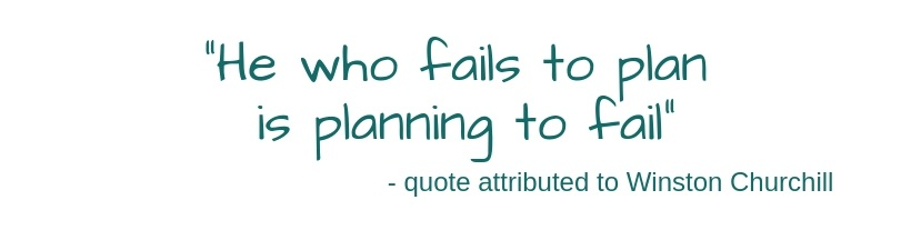 Planning to Fail quote