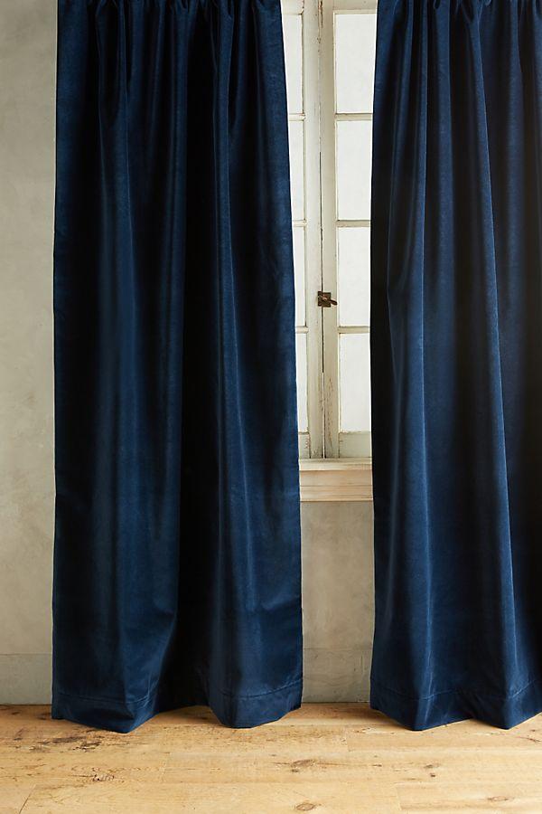 cotton velvet panels