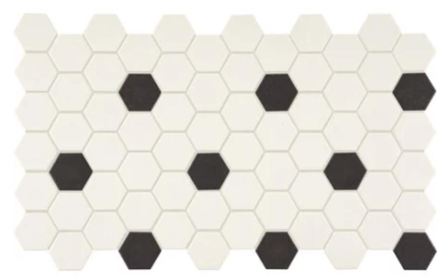 mosaic hex tile