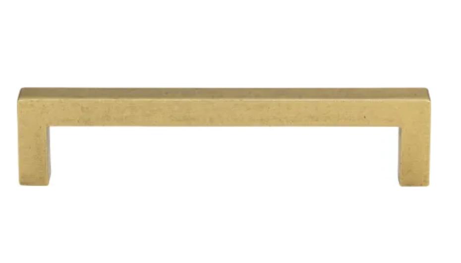 Atlas brass cabinet pull