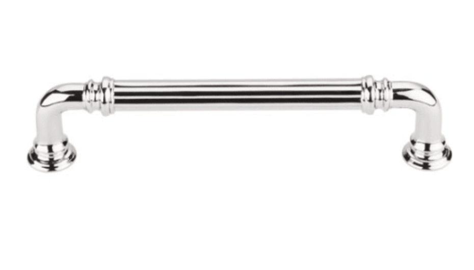 Top Knobs polished nickel cabinet pull