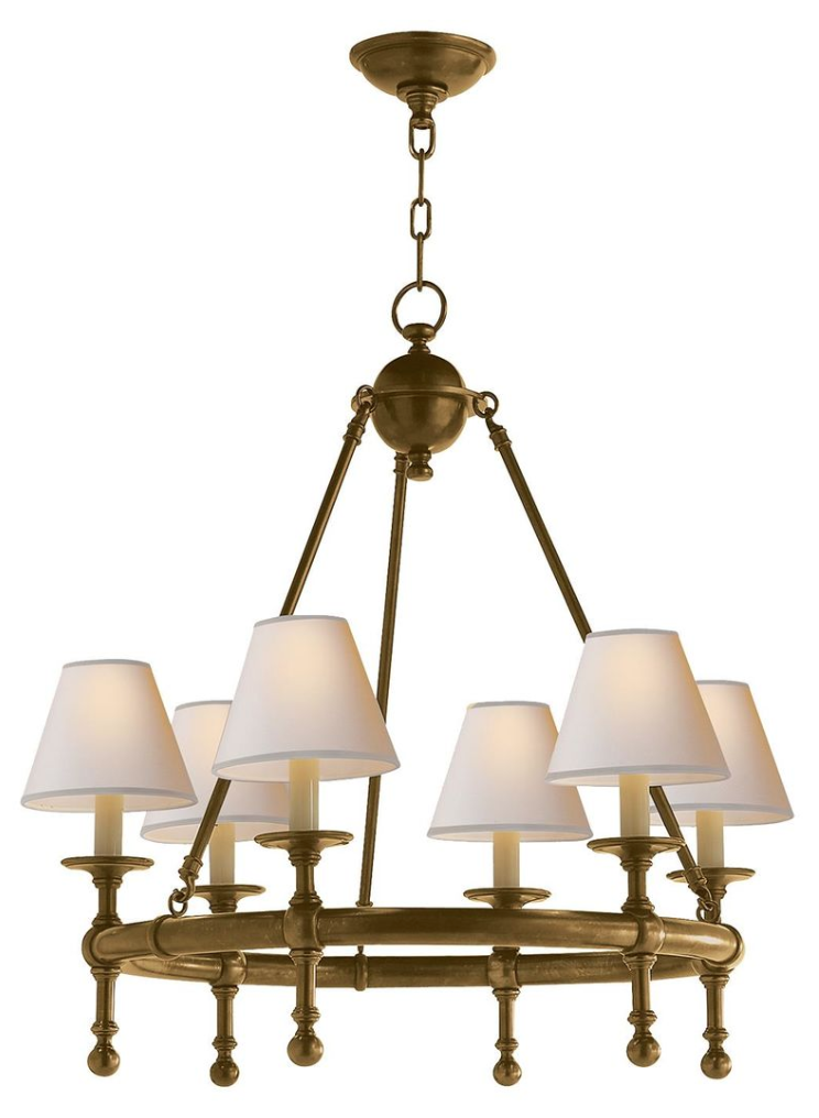 My current classic chandelier crush, available   HERE
