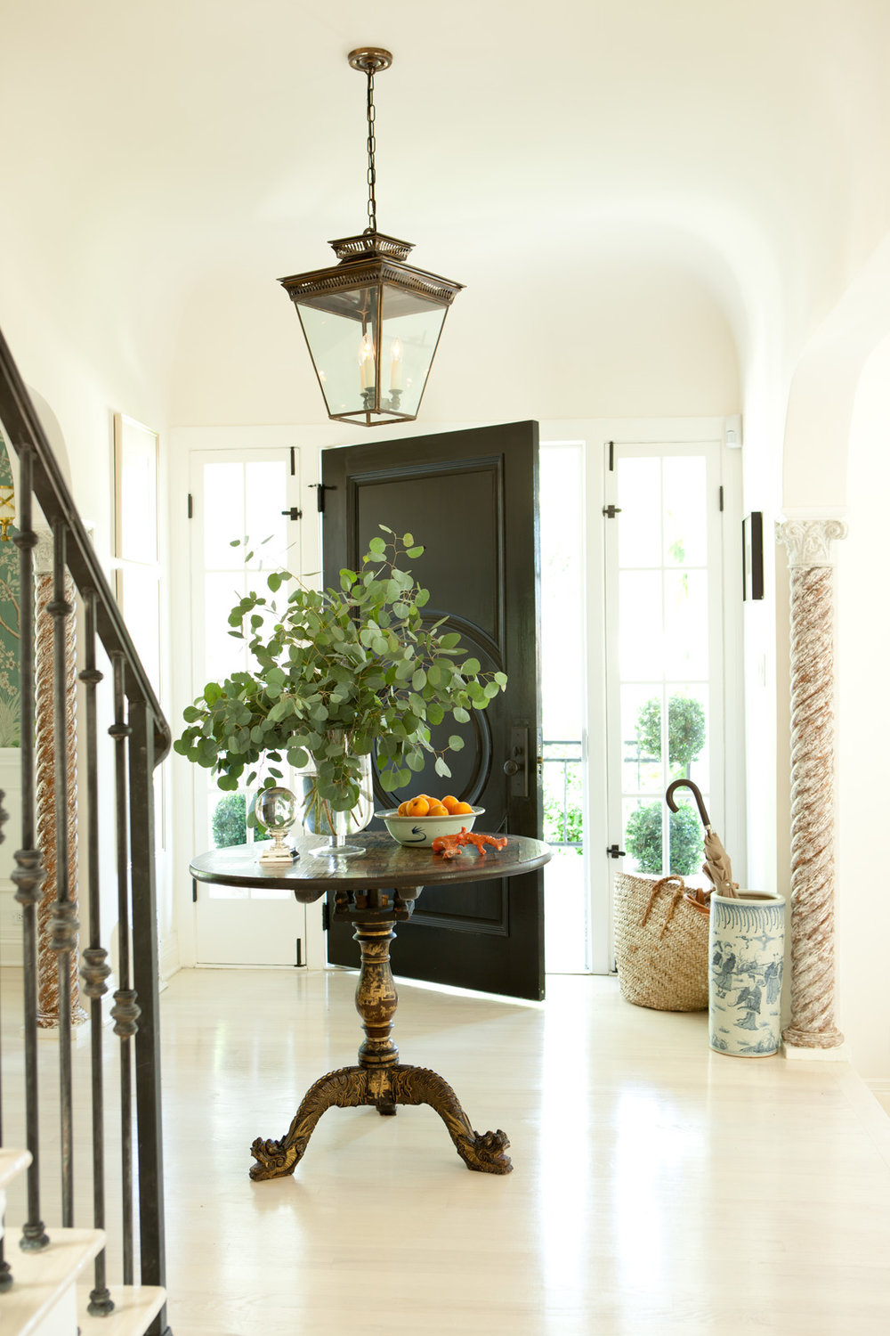 Foyer of   Mark D Sikes
