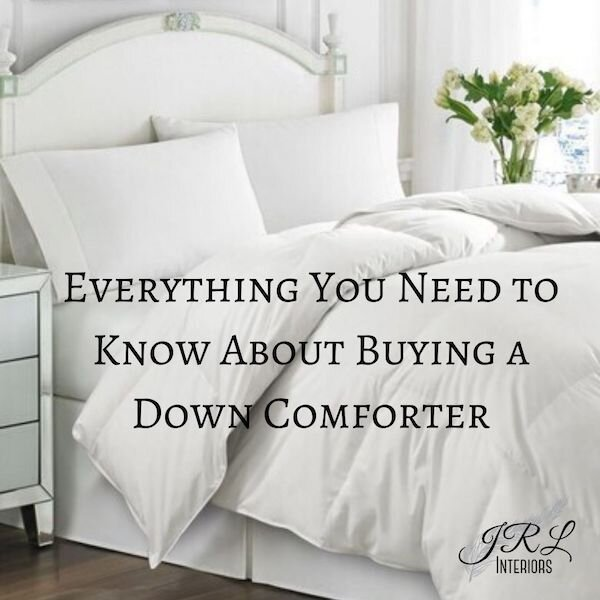 Jrl Interiors How To Choose The Best Down Comforter