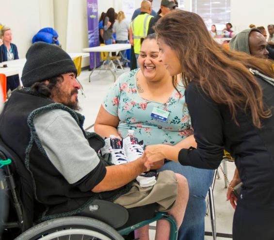 Albuquerque homeless Steelbridge Day of Honor