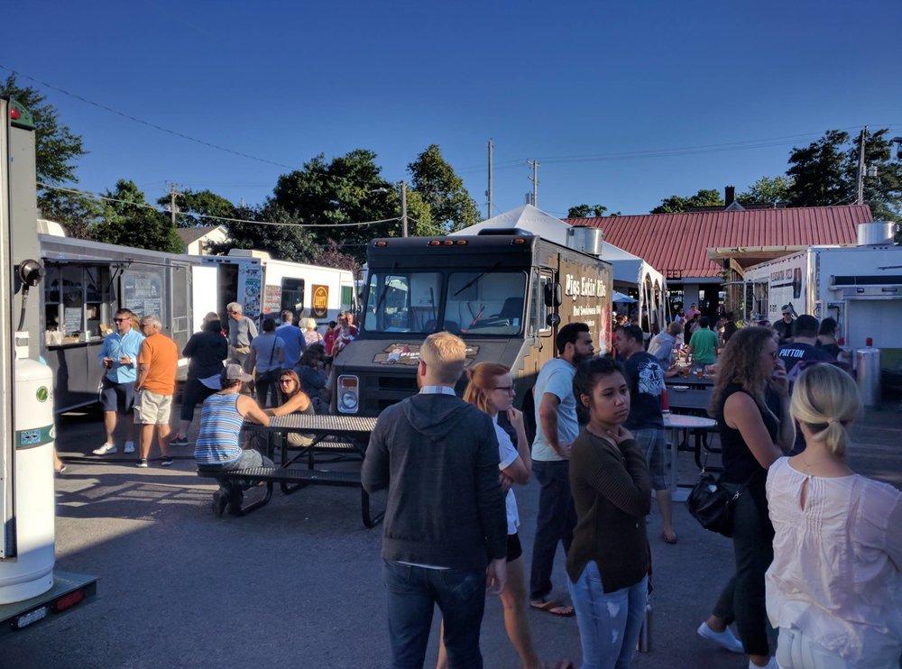 Food Trucks at Little Fleet