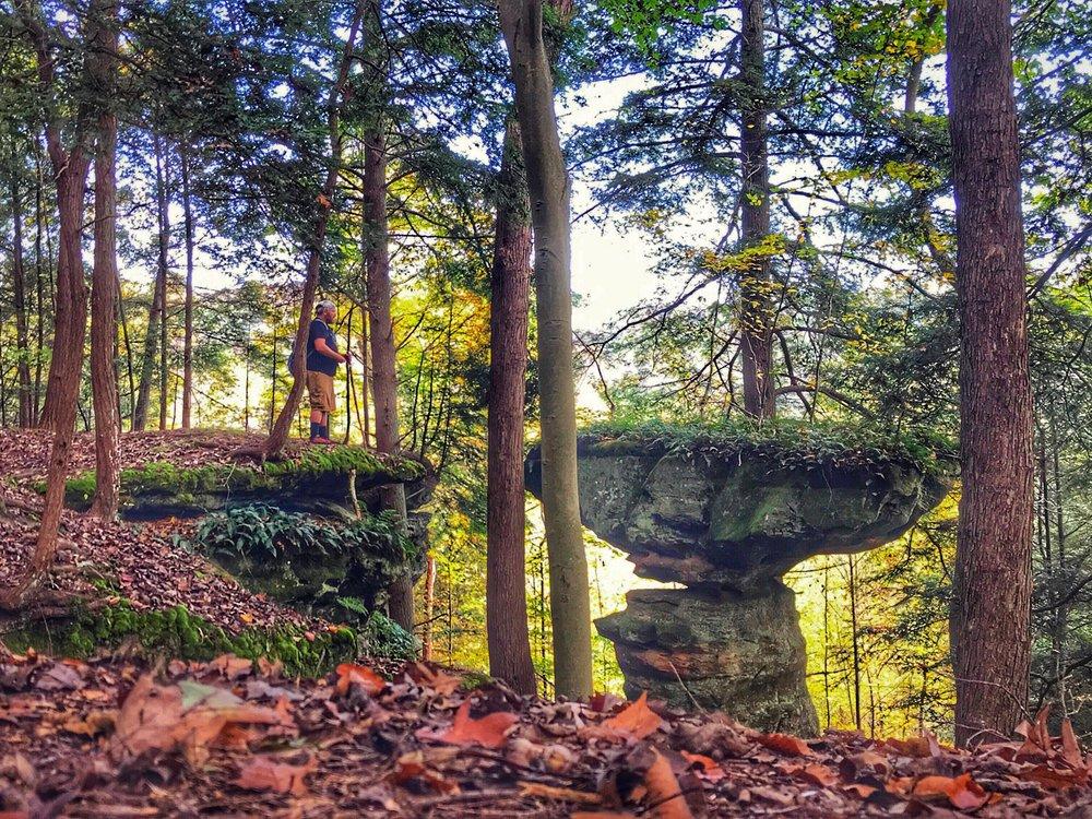 Hocking Hills: Balanced Rock.