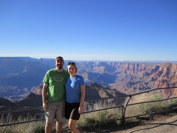 Our first looks at the canyon—after I had calmed down a bit.
