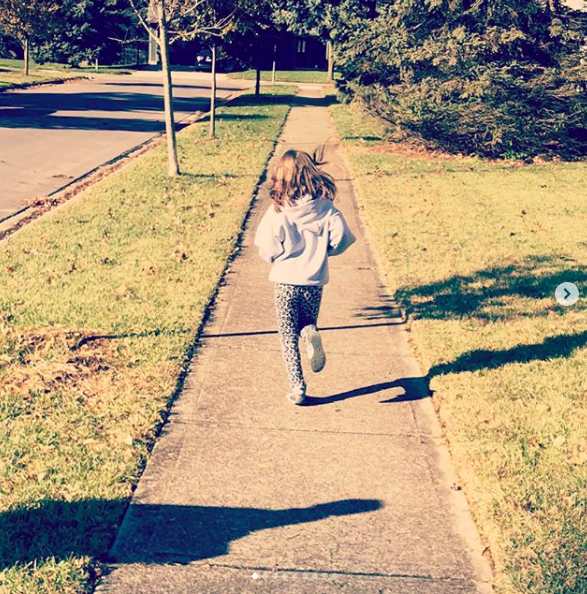 Running to the park!