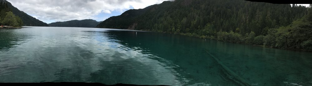After the Marymere Falls hike take a stroll out to admire the beautifully tranquil Lake Crescent!