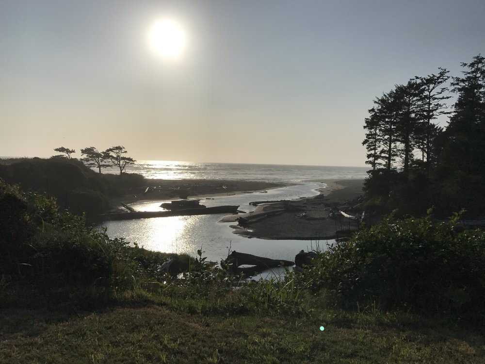 We stayed overnight at the  Kalaloch Lodge  in Olympic NP prior to an early rise and four hour drive to Mt Rainier! We arrived just in time for sunset :).