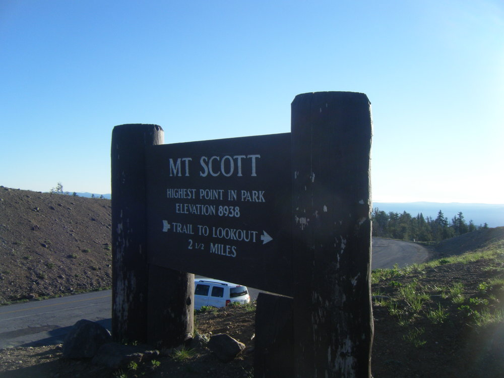 1. Conquer the highest point! We hiked Mount Scott at dawn prior to heading to Portland. It was well worth it. Trail details are on the sign :).