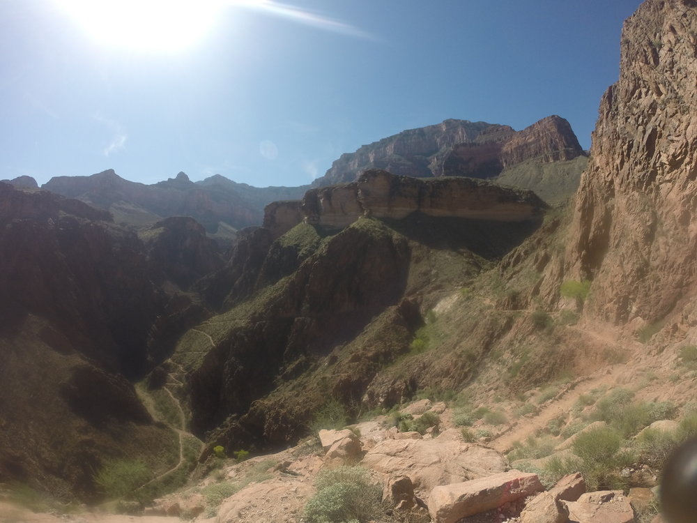 1. Bright Angel Trail  Grand Canyon National Park!  I wrote a  full blog HERE  on this hike but it's the best of the best not only in the Phoenix region but the whole country. It doesn't matter how many times I go...there's nothing like hiking into the Grand Canyon!