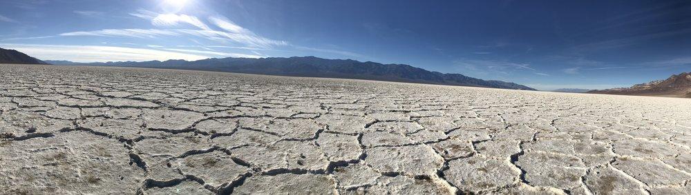 Panorama view of the salt flats!