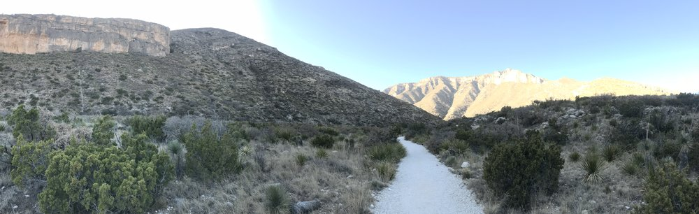 McKittrick Canyon:  One of a few amazing treks in Guadalupe Mountains National Park.