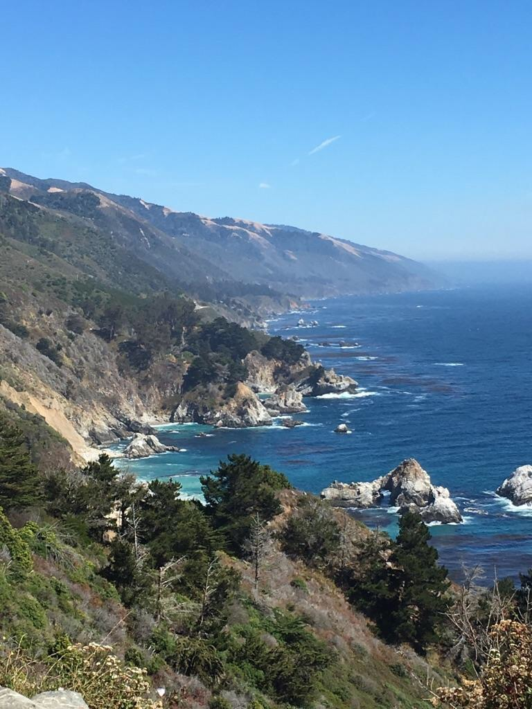 The winding roads of the PCH