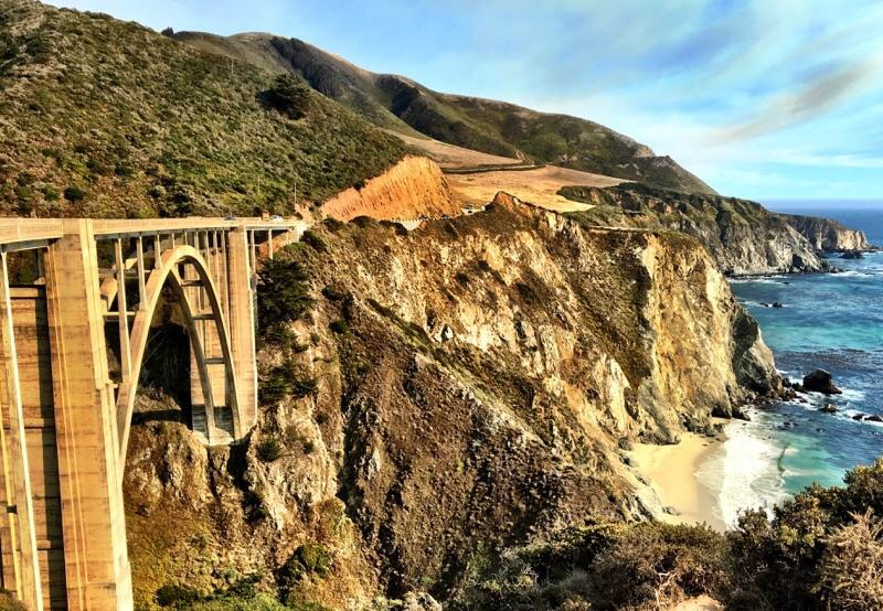 Bixby Creek Bridge.