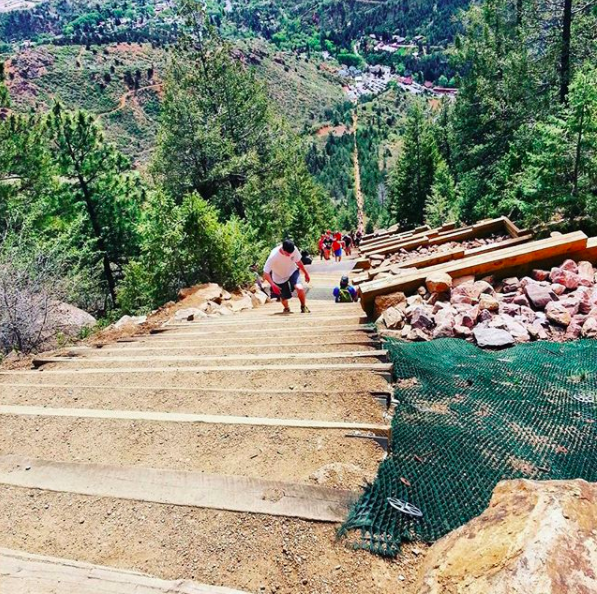 Almost to the top of the Incline!