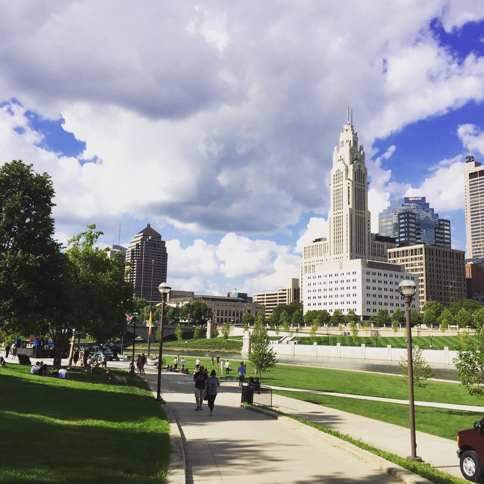 View of Downtown Columbus
