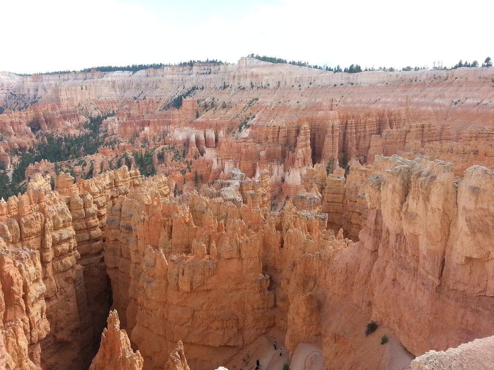 The Hoo Doo's of Bryce Canyon.