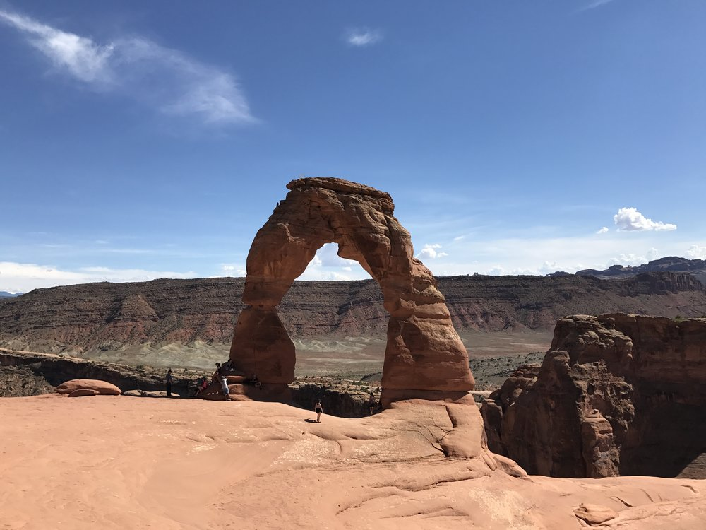 The unforgettable Delicate Arch.