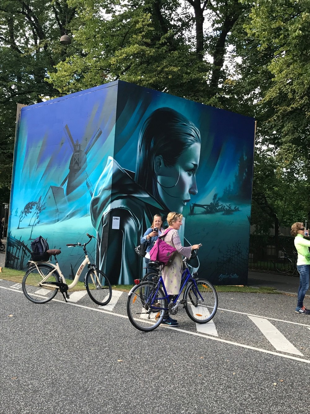 …and long walks filled with public art installations and quintessential Danish streets.
