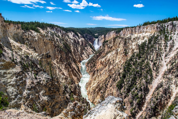 The Grand Canyon of the Yellowstone is as advertised!