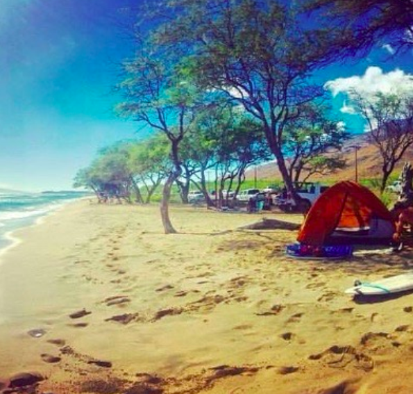 Photo Cred: Ashley G via Maui Camping Co  Instagram