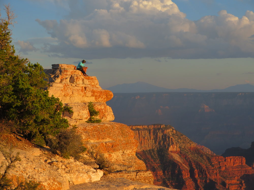 Sunset North Rim of the Grand Canyon