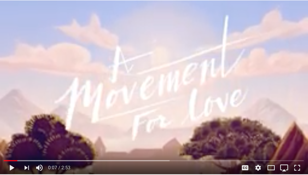 A Movement for Love