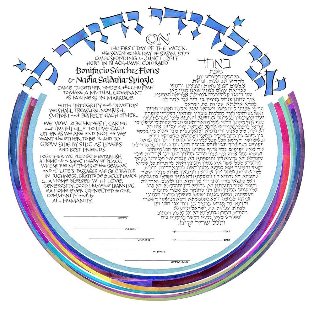 Orthodox Aramaic with Goodman English -