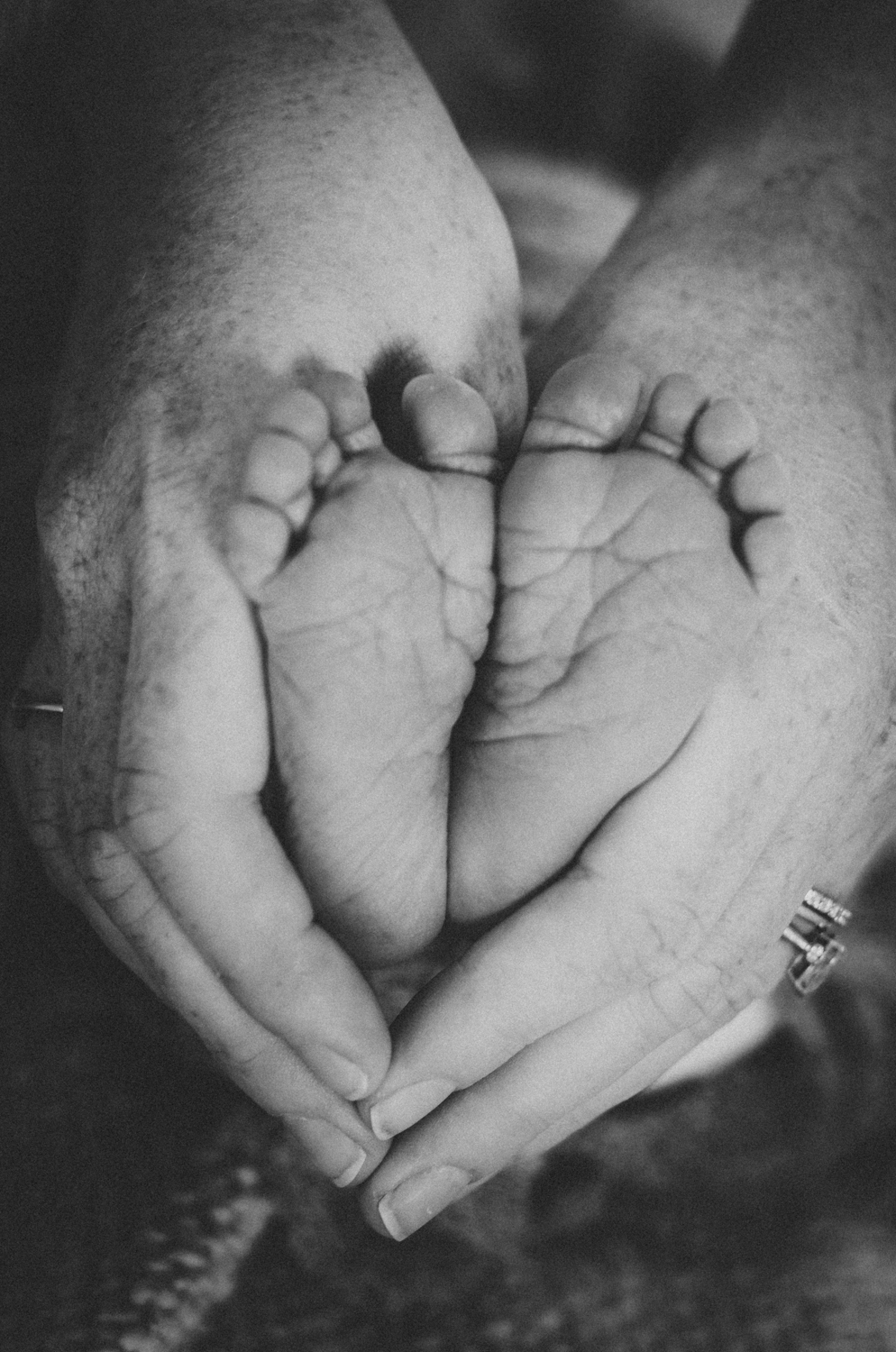 baby feet London Newborn Photographer Wandsworth