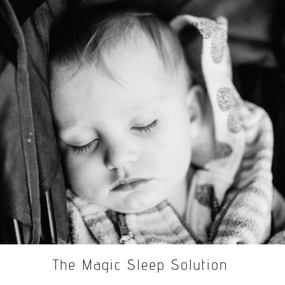 Toddler sleep solution