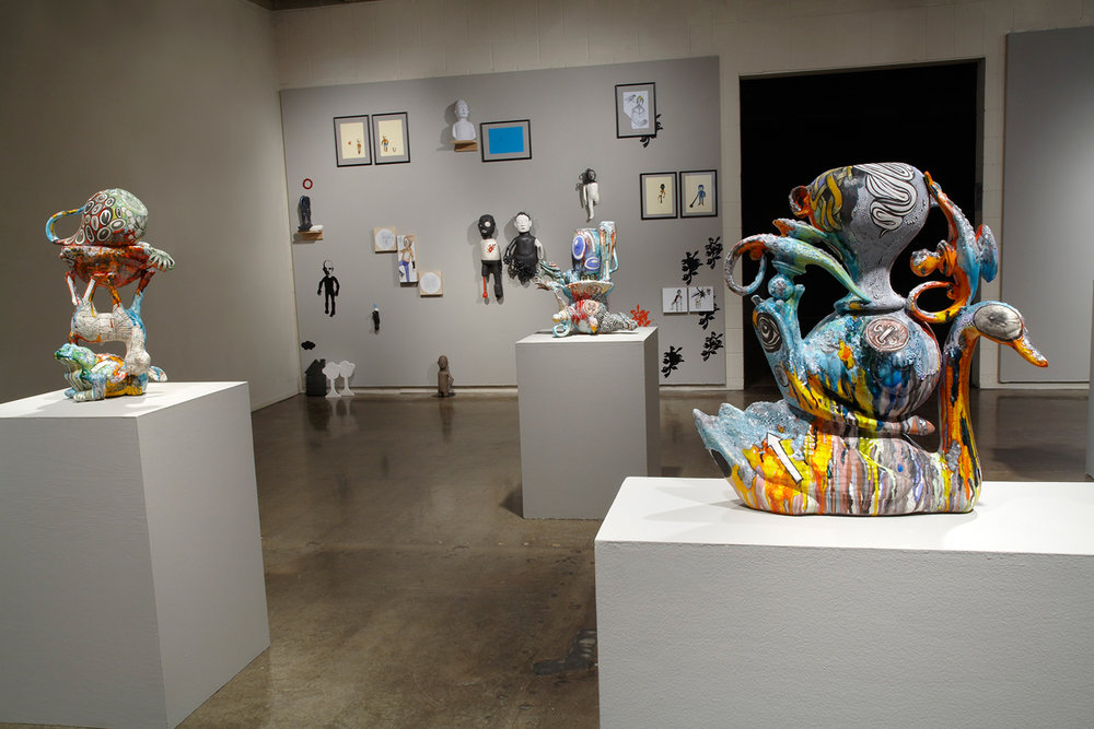 Contemporary Monsters | Curatorial Project Edith Garcia and Michael Lucero  Northern Clay Center