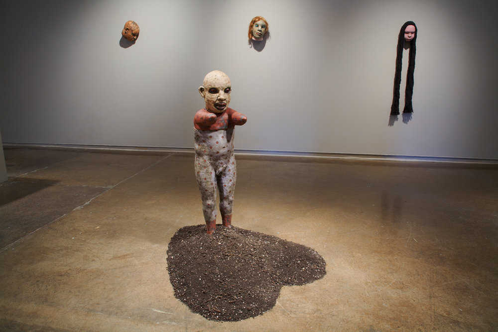 Contemporary Monsters | Curatorial Project Tom Bartel  Northern Clay Center