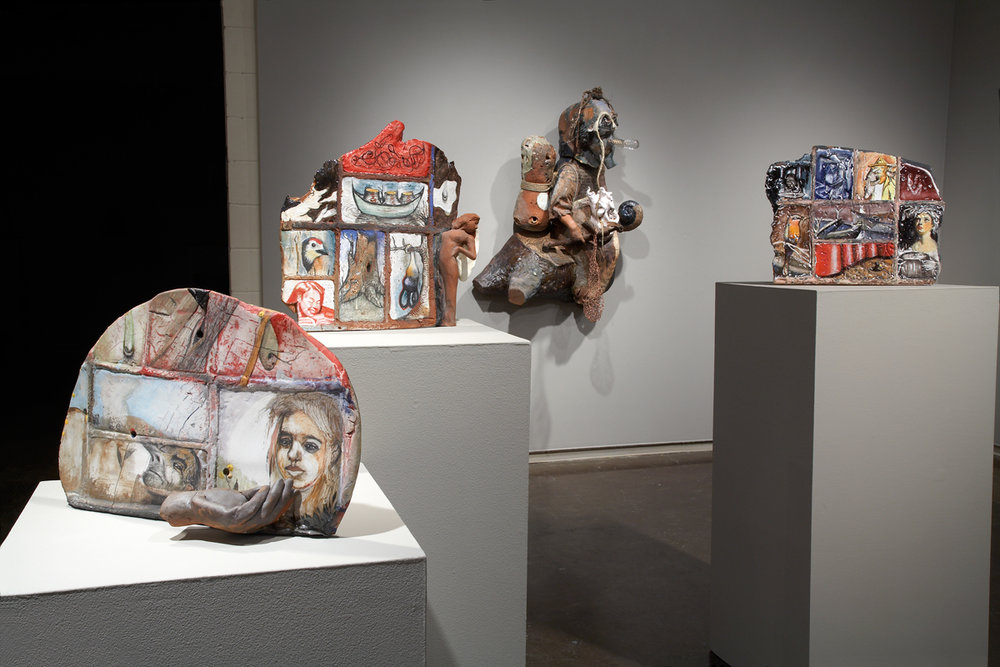 Contemporary Monsters | Curatorial Project   Arthur Gonzalez  Northern Clay Center